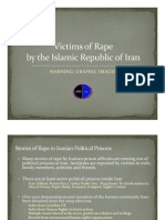 Profiles of Iranian Victims of Brutal Rape and Murder