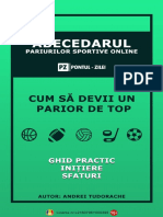 Abecedarul pariurilor sportive online - www.pontul-zilei.com