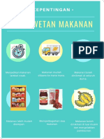poster KEPENTINGAN pengawetan makanan