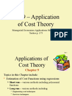 ch09 - Cost Theory Applications