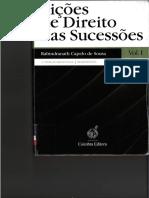 Lições de Direito das Sucessões - Capelo de Sousa - Vol I