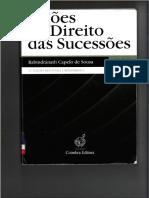 Lições de Direito das Sucessões - Capelo de Sousa - Vol II