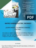 EXPOSICION MATRIZ GENERAL ELECTRIC