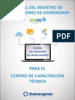 11. Folleto Centros de Capacitacion_ Portal del Registro de Instaladores