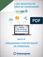 13. Folleto OCP_ Portal del Registro de Instaladores