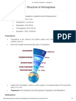 GK - Structure of Atmosphere - Tutorialspoint
