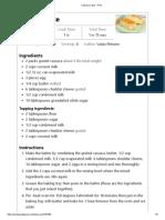 Cassava Cake - Print