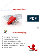 CPW4 Business Writing WRT401 PPSlides V1.3