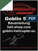Goblin 570 Anleitung Deutsch