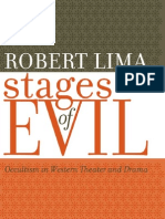 Robert Lima - Stages of Evil - Occultism in Western Theater and Drama
