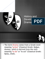 History and Development of Drama