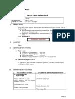 Lesson Plan - Mathematics 8.docx