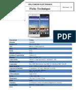 fiche technique smartphone PGN-509
