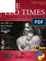 THE LEO TIMES | Vol 01 Issue 10