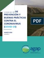 MEDIDAS DE PREVENCIÓN Y BUENAS PRÁCTICAS CONTROL COVID-19