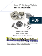 Using a Rotary Table