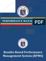 RPMS Overview 2015