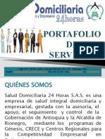 SALUD DOMICILIARIA_PORTAFOLIO DE SERVICIOS 2016