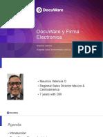 DocuWare y firma electronica
