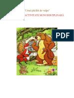 DLC  -URSUL PĂCĂLIT DE VULPE  - MOȘNEANU LOREDANA