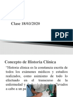 Historia Clinica - 2020