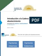 3. Intro SCM 1  diplomado Nur - Clases de Cadenas.pptx