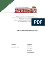 Proyecto sociotecnologico  alfabetizacion