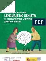 Guia Para Uso de Lenguaje No Sexista