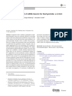 Life cycle assessment of edible insects for food protein