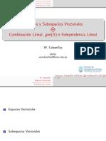 ESPACIOS VECT_ INDEPENDENCIA