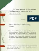 Unidad 4. Métodos para la toma de decisiones y resolución