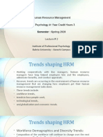 Lecture 2 HRM 13 February 2020