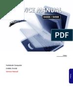 Clevo D400E D410E Sager Np4060