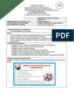 PLAN DE APRENDIZAJE FLEXIBLE TECNOLOGÍA E INFORMÁTICA - 4°