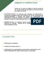 TECNICAS AUDITORIA SOCIAL
