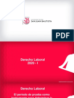 El período de prueba como instrumento para determinar la capacidad de los trabajadores. Derecho Laboral. Tema 9