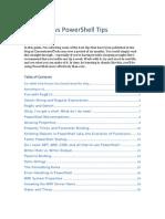Power Shell Tips