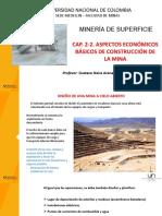 Cap 2-2 - Aspectos económicos básicos - construcción de la  mina