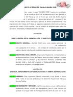 Reglamento Interno de Trabajo CineMundo