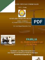 PARENTESCO Y FILIACION DE ACUERDO AL CF BENAVIDES