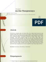 Cholesteatoma and Its Management