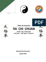 Material Taller de Taichi  para Principiantes