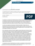 CRÓNICAS DE UNA AMÉRICA ERRANTE