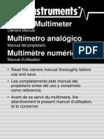 Multi Meter Manual GMT_12A