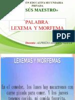 08. PALABRA, LEXEMA Y MORFEMA