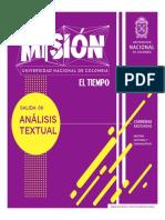 Análisis textual III