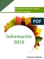 INFORMACION DE HOSPEDAJE