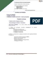 Trabalho de Grupo  1.2 - Modelos Pedagógicos e Organização dos Espaços Educativos