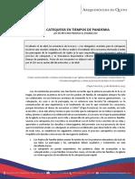 CATEQUESIS EN TIEMPO DE PANDEMIA