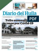 Edición Diario del Huila 11 Junio